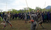 Surma stick fighting